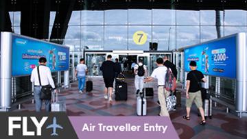 Plan B Media l Fly l Air Traveller Entry